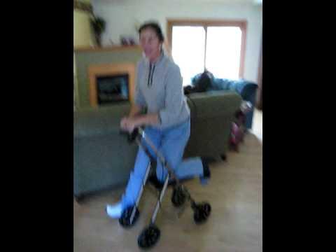 Knee Walker Knee Scooter Youtube