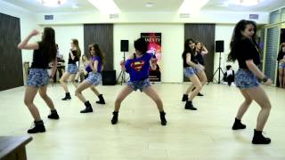 "Премия DANZA TV 22.02.15г. Danza шоу команда BEGINNERS, Dance studio ""Amfiks"""