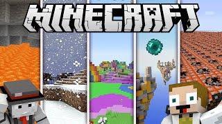 [GEJMR] Minecraft - Nové SkyWars na 5 různých variant!