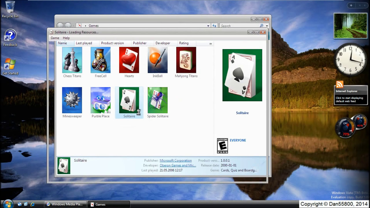 Windows Vista Ultimate Beta 2 Build 5384 Youtube