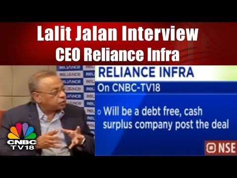 Lalit Jalan Interview, CEO Reliance Infra | Charbuster: Top Stocks of the Day | CNBC-TV18