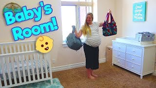 Baby Beach Nursery Tour! New Baby's Room! Mr. E Mansion Tour! / The Beach House