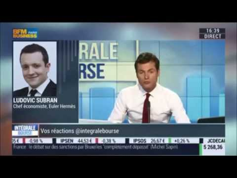 Conférence de presse de la BCE : Ludovic Subran sur BFM Business