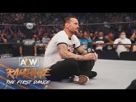 CM Punk Speaks for the First Time Ever in AEW | AEW Rampage: The First Dance, 8/20/21