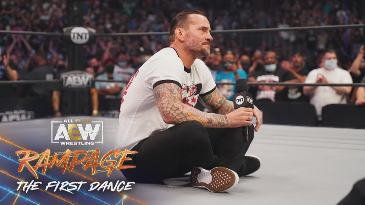 Download CM Punk Speaks for the First Time Ever in AEW | AEW Rampage: The First Dance, 8/20/21