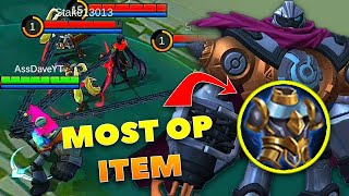 New Hero Atlas Combo/Most OP item | Mobile Legends