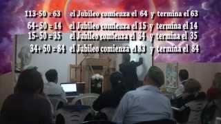 EL DIA, LA HORA Y LOS JUBILEOS PARTE 1 PR.MARCO POZO