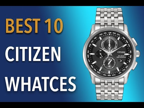 Best Citizen Watches For Men To Buy 2019