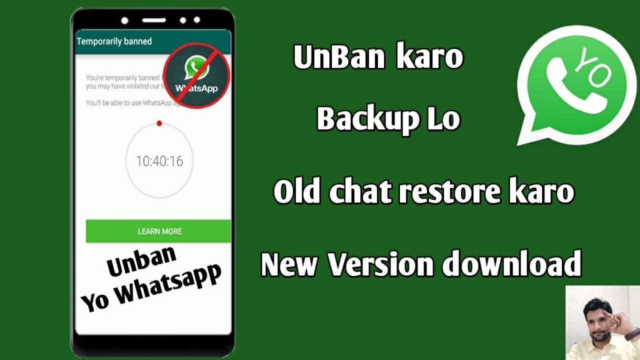 Yo WhatsApp new version download | yo whatsapp temporary ...