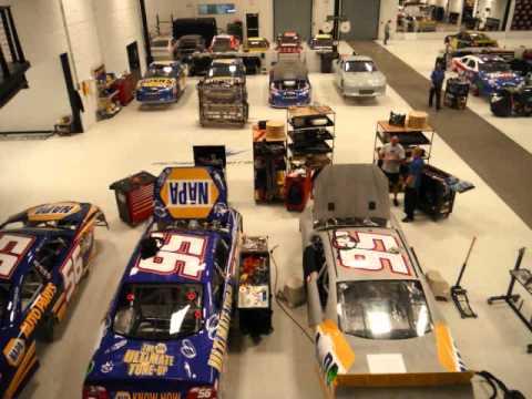 Nascar Michael Waltrip Inside The Garage Wmv Youtube