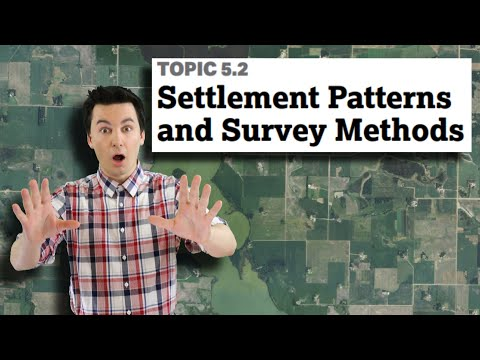 Long Lots, Township & Range, Metes & Bounds, & Settlements [AP Human Geography Unit 5 Topic 2] (5.2)