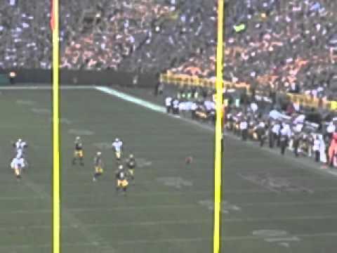 49ers David Akers 63 yard field goal (fan view)