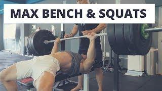 figcaption CALISTHENICS VS MAX Bench Press / Squat REVENGE (맨몸운동 vs 벤치프레스/스쿼트 최대중량 재도전)