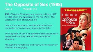 The Opposite Of Sex 1998