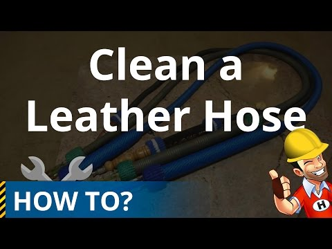 How to Clean / Wash a Leather Hookah Hose
