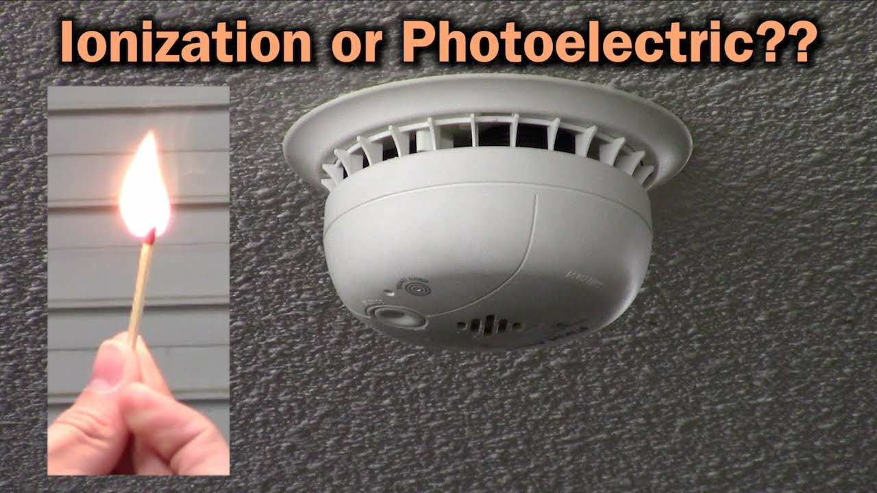What Type Of Smoke Alarm Should I Install Ionization Or Photoelectric Youtube