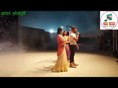 Kajal Raghwani And Khesari Lal Yadav ,Ritu Singh - Live Performance At Doha Qatar