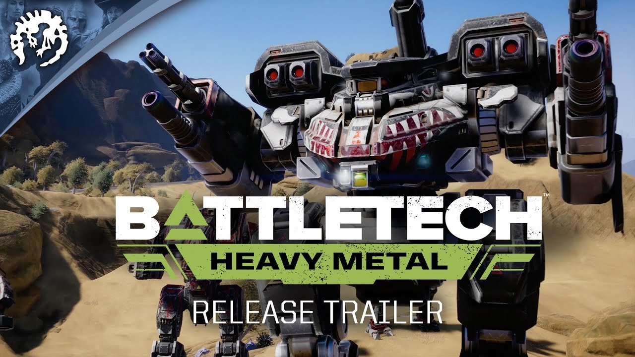 Battletech 2020 Mech List.Battletech Heavy Metal Release Trailer