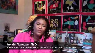 """African American Literature of the Civil Rights Movement"" with Brenda Flanagan, Ph.D."