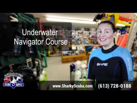 Underwater Navigator Course - Ottawa Scuba Diving - PADI Courses