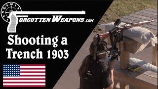 Shooting the Cameron Yaggi 1903 Trench Rifle Conversion