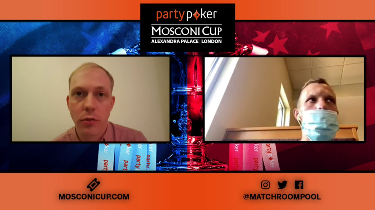 Justin Bergman: back for fifth Mosconi Cup appearance