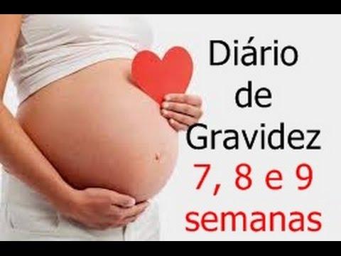 quais os sintomas de gravidez 9 semanas