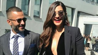 Sonam Kapoor and Anand Ahuja Snapped Together