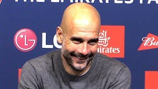 Man City 1-0 Brighton - Pep Guardiola Embargoed Post Match Press Conference - FA Cup Semi-Final