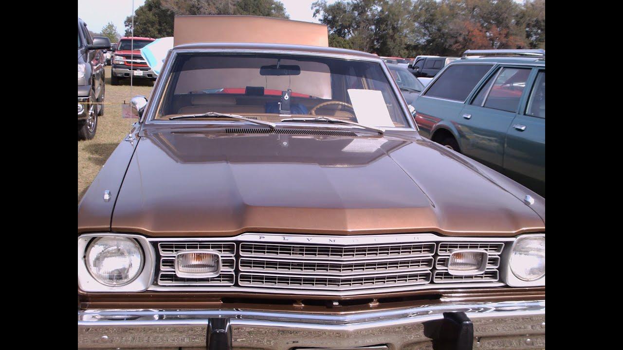 1973 valiant 4 door sedan copper sumtrfg 020512 youtube. Black Bedroom Furniture Sets. Home Design Ideas