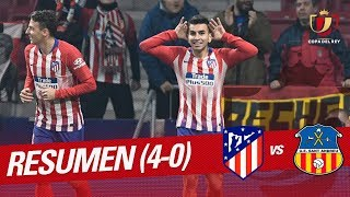 Highlights Atletico Madrid Vs Ue Sant Andreu (4 0)