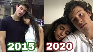 Shawn mendes and camila cabello 2015 - 2020 evolution ❤️ special moments #shawmila