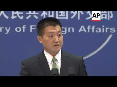 Chinese foreign ministry on stand-off with India