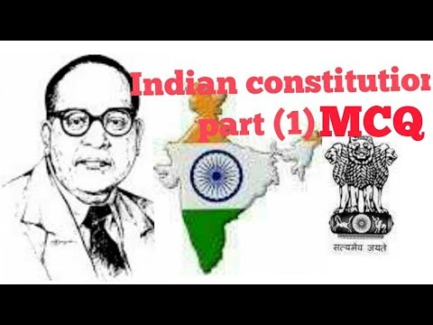 Indian constitution   mcq part1  SSC and others state exam   2018