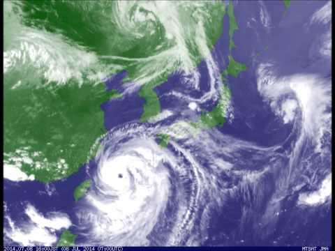 台風は回転する向きが決まっているって知ってた? - NAVER まとめ