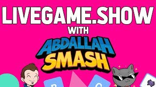 LIVEGAME.SHOW With Abdallah! FREE Online Multiplayer Mobile App! 1.23.19