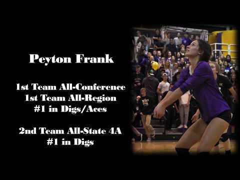 Peyton Frank Libero Class of 2020-The Diff U16 2018 Club Volleyball Highlights