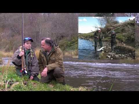 Salmon Fishing On The Tweed's Whiteadder Tributary - Andy Richardson With Mr Andrew Edey