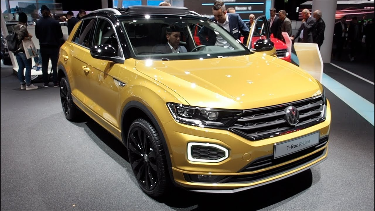 the all new volkswagen t roc r line 2018 in detail review walkaround interior exterior youtube. Black Bedroom Furniture Sets. Home Design Ideas