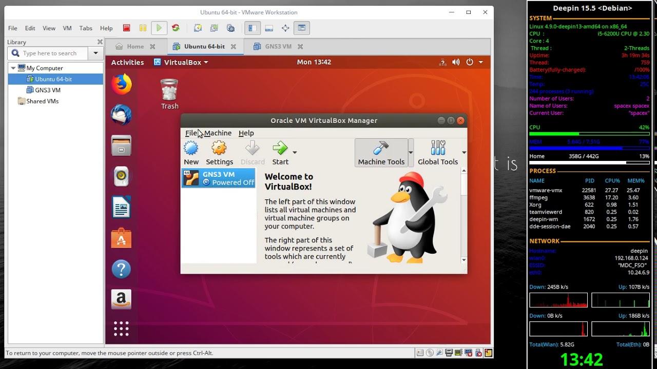 Install GNS3, GSN3 VM, Ubuntu Docker & python