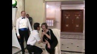Веселимся на свадьбе (танцует зять с тёщей)г.Талгар