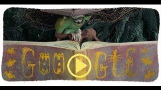Happy Halloween! - Google doodle 2013