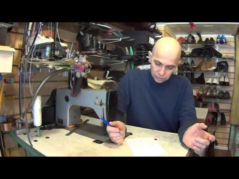 Видеоуроки по ремонту обуви