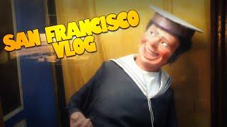 My Trip To San Francisco | CREEPY ARCADE PUPPET | San Francisco Vlog (vLogdotzip)