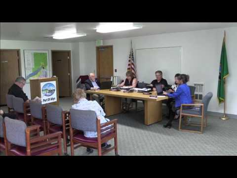 Port Of Allyn | Regular Meeting | 2017-06-05