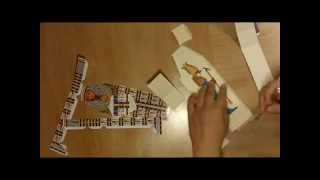 Sarcophagi Paper Craft