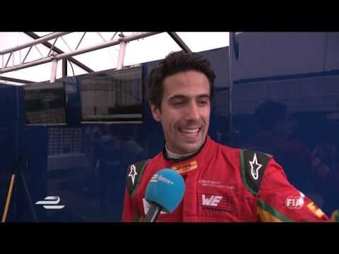 DHL Berlin ePrix - Lucas di Grassi post-race interview