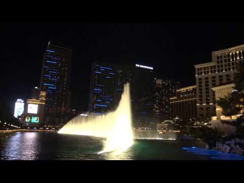 Time To Say Goodbye - 4K Bellagio Fountains, Las Vegas
