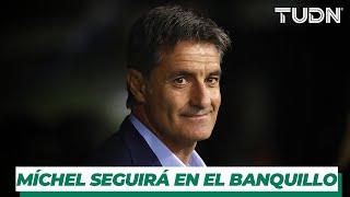Oficial: Pumas apuesta por la continuidad de Míchel   TUDN