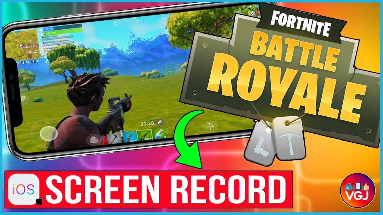 How To Screen Record Fortnite On Iphone Beginner S Guide Youtube